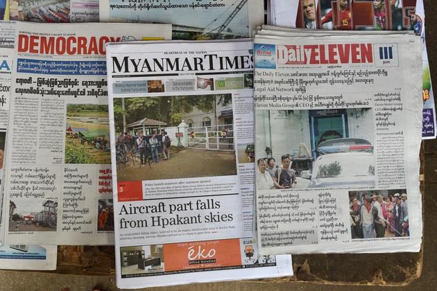 La libertad de expresión se mantiene como un riesgo en Myanmar, donde de nuevo un periodista va a la cárcel, esta vez por el tema de la pandemia. La crisis de la covid-19 hizo que numerosos médicos, comunicadores y ciudadanos de Asia que opinaban en sus redes sociales enfrenten cargos en los tribunales. Foto: AI