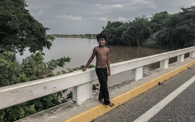 Un niño afroindígena mexicano. Foto: Kau Sirenio/Pie de Página