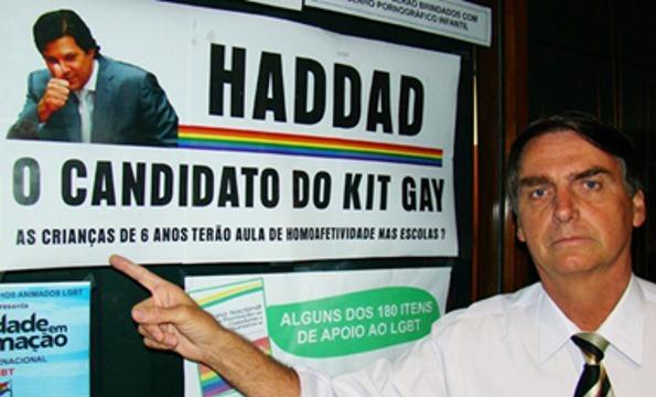 Jair Bolsonaro durante la campaña a las elecciones presidenciales en Brasil, en 2018. Foto: | Congressoemfoco.uol.com