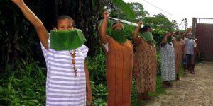 La defensa contra la nueva pandemia es una necesidad destacada para los 500 pueblos indígenas que habitan en la Amazonia, por la debilidad inmunológica y la dificultad para acceder a servicios de salud que confrontan muchos de ellos. Foto: Coica-OPS
