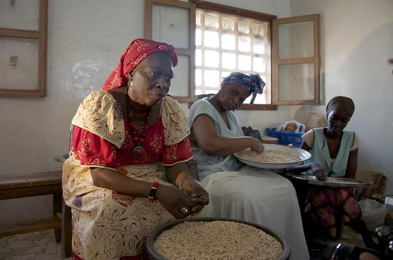 Un pequeño pero creciente número de mujeres encabezan emprendimiento agroalimentarios de variadas escalas en África, que en algunos casos producen innovadores y reconocidos productos destinados a combatir la desnutrición, en particular la infantil. Foto: Jeff Haskins / IPS