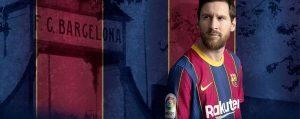 El argentino Leo Messi, emblema del mejor Barça, ahora en las horas más bajas de un fin de ciclo, expresadas en su humillante derrota en Lisboa. Foto: FCB