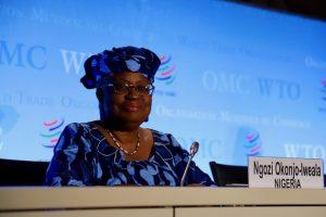 Estados Unidos contra la OMC y la designación de Ngozi Okonjo-Iweala exministra de Finanzas de Nigeria y exdirectora del Banco Mundial.