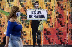 Conspiraciones en América Latina financiadas con dinero opaco, collage en Brasil.