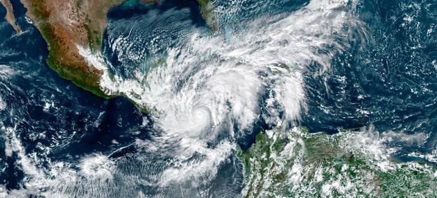 América Central quedó devastada por el huracán Eta.