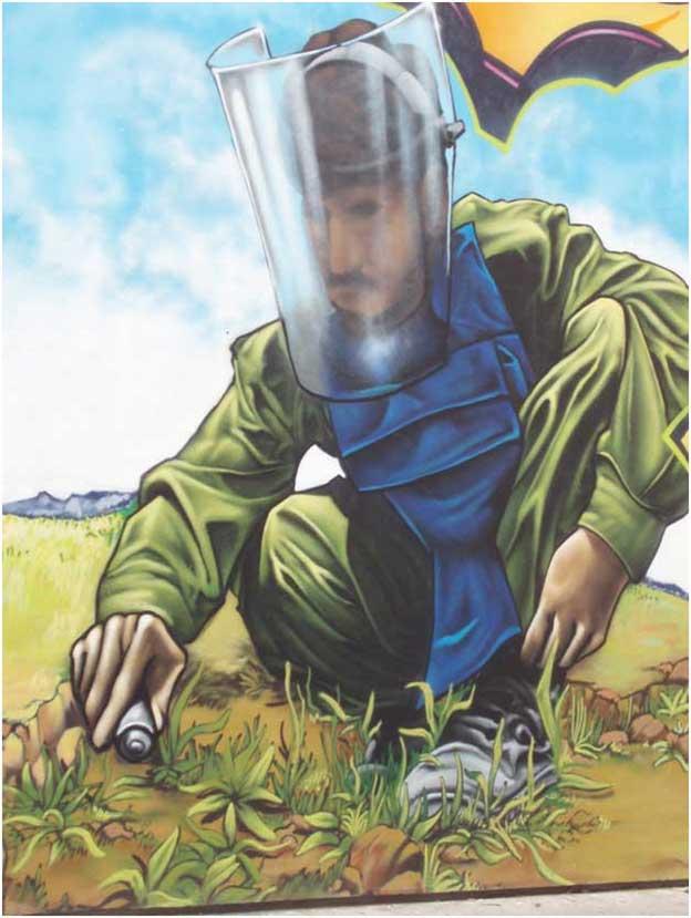 El potencial destructivo de las armas biológicas.