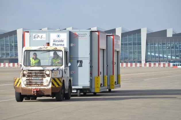El aeropuerto de Bruselas-Zaventem ya completó los preparativos para ser el centro logístico de la compleja distribución de vacunas a toda la Unión Europea, tras recibir la aprobación definitiva por la autoridad sanitaria del bloque. Foto: Aeropuerto de Bruselas
