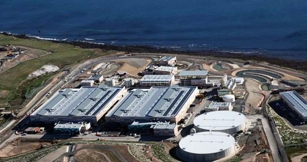 Proyección de planta desalinizadora de Los Cabos, cuya construcción quedó definitivamente aprobada en octubre de 2020. Tendrá capacidad para potabilizar 250 litros por segundo y su costo sobrepasará los 55 millones de dólares, según datos de la gobernación del estado de Baja California Sur. Imagen: Gobernación BCS
