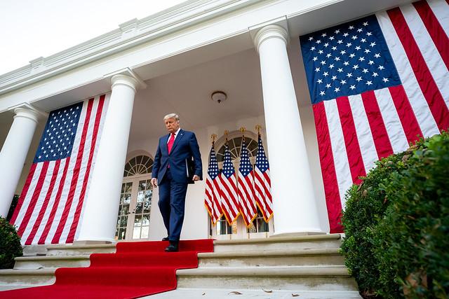 El abandono de Donald Trump de la Casa Blanca se espera que ponga fin a cuatro años de estridente desgobierno global. Foto: Casa Blanca