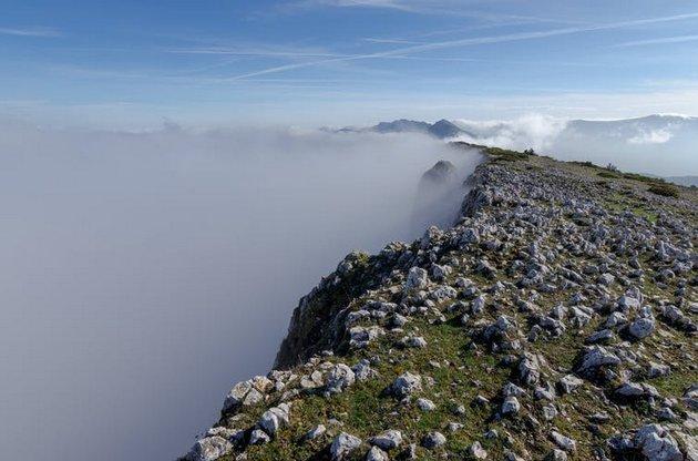 La sierra de Árcena, en el norte de España. Foto: Shutterstock / Gorka Vega Barbero