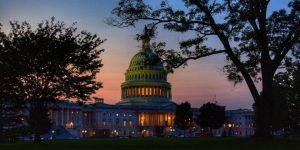 La placida imagen tradicional del Capitolio, sede en Washington del Congreso de Estados Unidos, que fue violentamente alterada por la toma de un trumpistas radicales. Foto: Mike Stoll/Unsplash