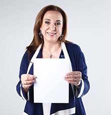 La autora, Rosi Orozco