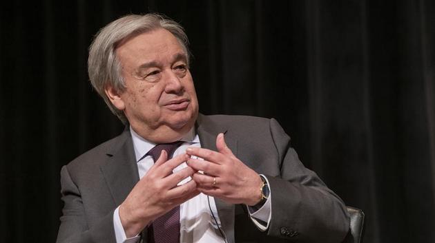 El secretario general de las Naciones Unidas, António Guterres. Foto: Mark Garten/ONU
