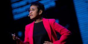 La periodista filipina Maria Ressa. Foto: Franz Lopez / Rappler-IJNET