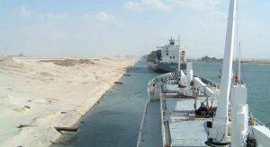 El Canal de Suez ha retomado su actividad. Foto: Wikiwand