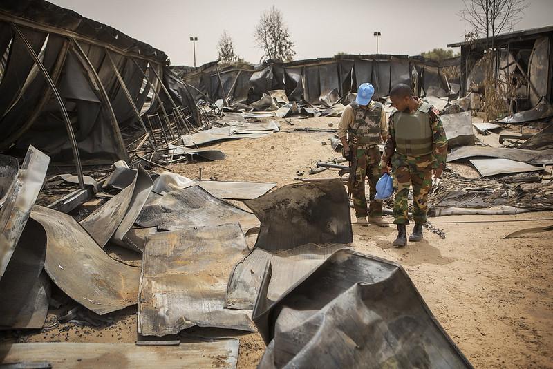 La investigación de Amnistía Internacional reveló que 18 personas murieron y decenas resultaron heridas por fuerzas de seguridad y militares, durante las protestas y el golpe de Estado en Malí en 2020. Foto: Sylvain Liechti / ONU