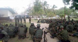 La Fuerza Armada de Venezuela apresta unidades para combatir a grupos irregulares armados que actúan en la frontera con Colombia. Foto: FANB