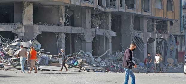 La primera semana de intensas hostilidades en la Franja de Gaza ha provocado numerosas bajas y desplazamientos a gran escala. Más de 50 niños han muerto en el conflicto abierto en Medio Oriente, según datos de la ONU hasta el 16 de mayo. Foto: OCHA