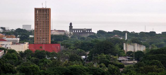 Una vista de Managua, donde la CIDH teme que políticos opositores detenidos este junio puedan ser procesados en