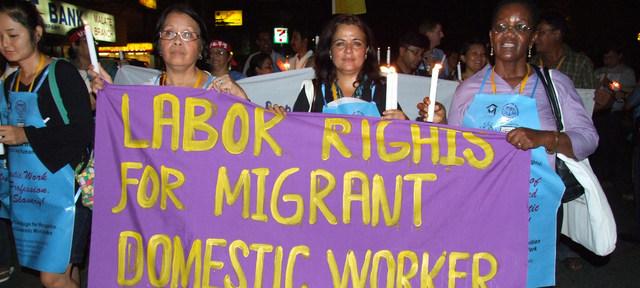 Las luchas de las trabajadoras domésticas por sus derechos condujeron a un Convenio de la Organización Internacional del Trabajo que cumple 10 años y produjo algunos avances en leyes y condiciones de labor, aunque la pandemia covid-19 ha castigado a ese sector con el desempleo. Foto: OIT