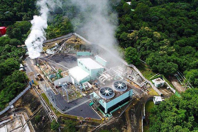 El Salvador es uno de los países del mundo que más aprovecha la energía geotérmica, de la que tiene una gran riqueza, como sus vecinos de América Central. Foto: LaGeo