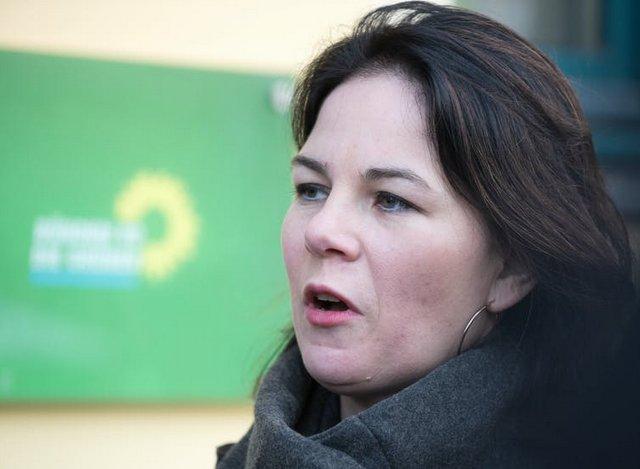 Annalena Baerbock, lideresa del partido de la Alianza 90/Los Verdes y candidata a canciller de Alemania para las elecciones federales de 2021. Foto: Shutterstock / photocosmos1